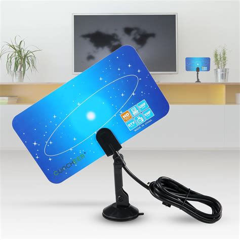 digital indoor tv antenna hdtv box linear hd vhf uhf stereo for satellite signal ebay