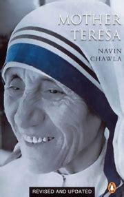 mother teresa authorized biography navin chawla mother teresa 2002 edition by navin chawla at vedic books