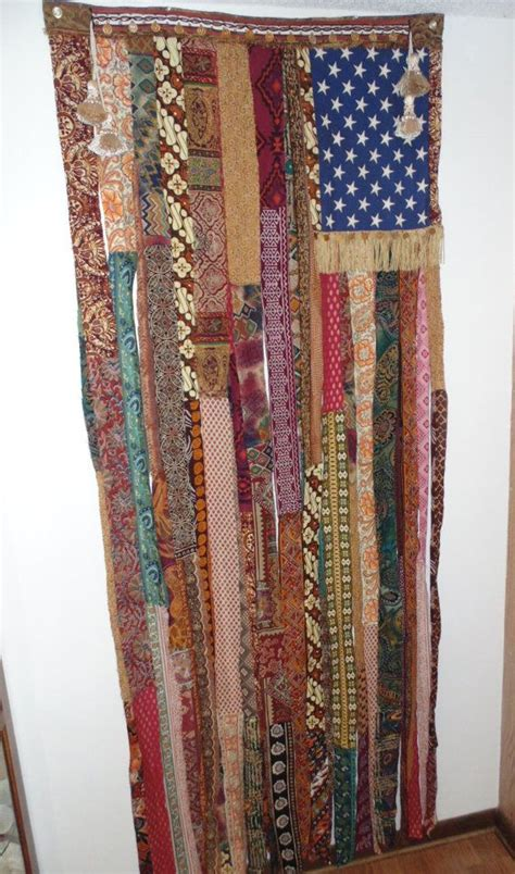 beaded door curtains x large bohemian hand beaded coin door curtain flag ethnic