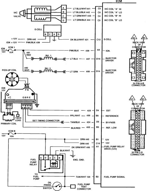 Wiring Diagram For 1987 Chevy Truck Fuel Pump - Wiring Diagram