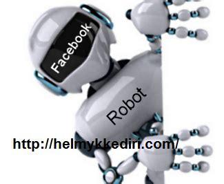 membuat robot facebook membuat bot autoreply message difanspage blogger kediri