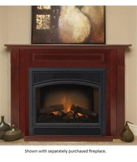 vent free gas fireplace cabinets monessen gcuf vent free circulating firebox