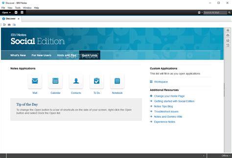 ibm lotus notes server ibm notes