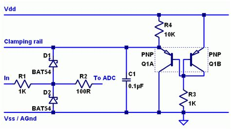 adc protection diode adc protection solution microchip