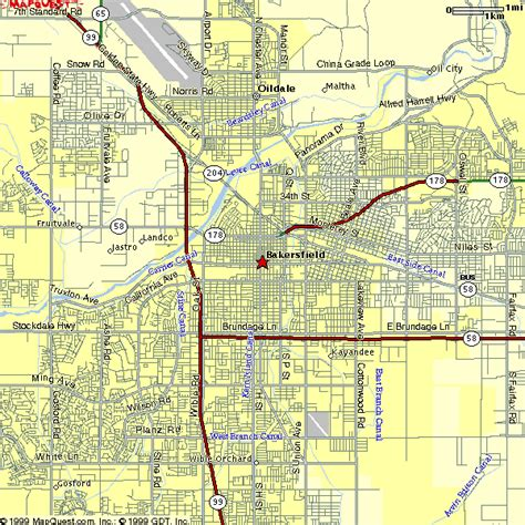 map of bakersfield kern county district supervisor areas map see map details