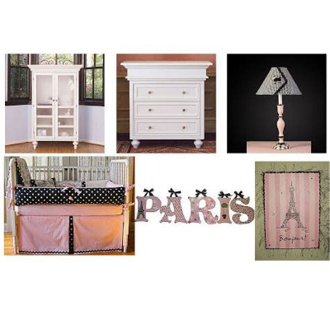 Parisian Nursery Decor Luxury Baby Nursery Look Of The Day Parisian Chic