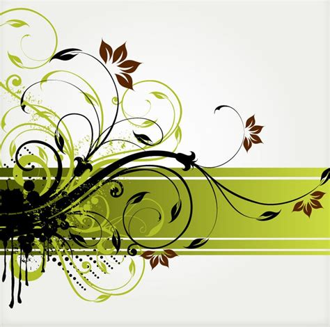 design background swirl floral swirl vector background free vector graphics