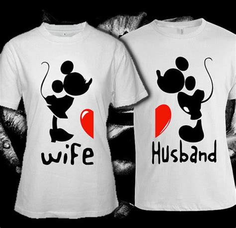 Shirts Made For Couples Mickey Miney Mouse Custom T Shirt Print Screen T