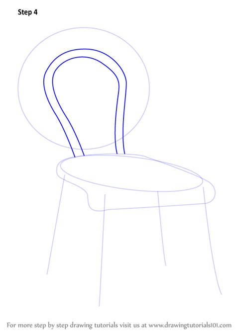 step by step upholstery learn how to draw a decorative chair furniture step by