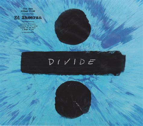 ed sheeran vinyl divide ed sheeran 247 divide cd album at discogs