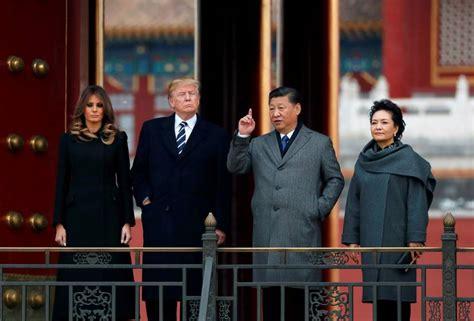 donald trump visit china trump in china for talks on north korea s cruel