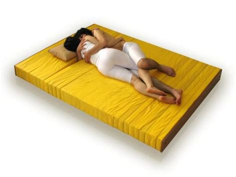 the cuddle mattress aids in cuddling up to your partner