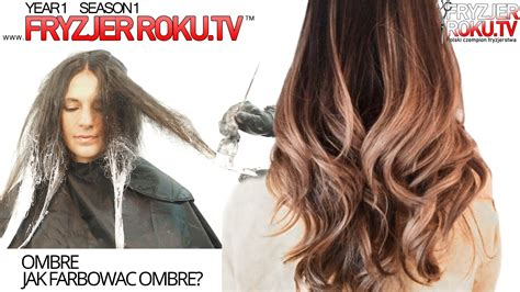 step by step for bob ombre ombre jak farbowac ombre how to ombre fryzjerroku tv