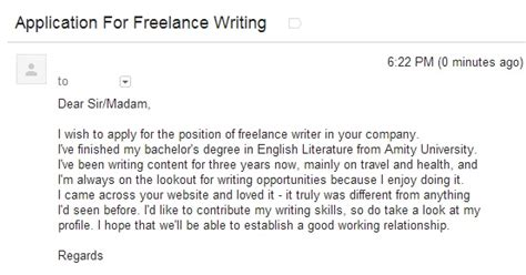 cover letter for freelance writer freelance writer cover letter exles stonewall services