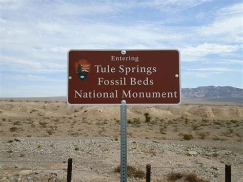 tule springs fossil beds national monument tule springs fossil beds national monument landmarks