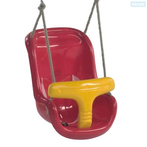 red and black baby swing baby swing seat two parts order online now wickey co uk
