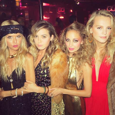 celebrity party games nicole richie 35th birthday party image 10 elle