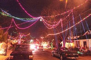 37th street christmas lights austin are partiers dimming the 37th street lights changes on