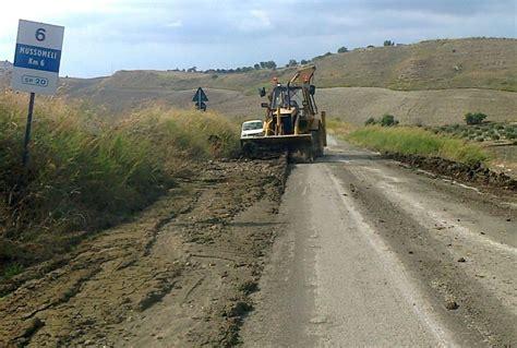 ufficio provinciale lavoro caltanissetta viabilit 224 mezzi a lavoro su 41 strade provinciali