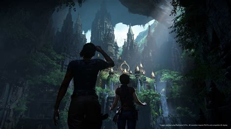 the lost uncharted the lost legacy 4k ps4 pro screens look like