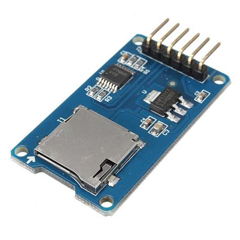 Sd Card For Arduino micro sd card reader module for arduino from mmm999 on tindie