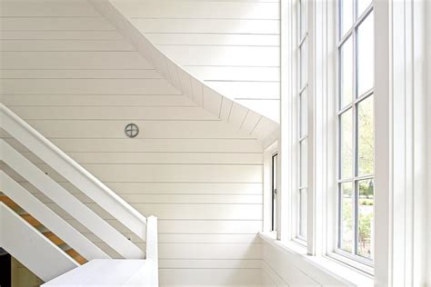 White Shiplap sweeping shiplap staircase 15 ways with shiplap southern living