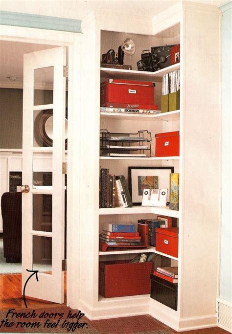built in corner bookshelf for the home pinterest