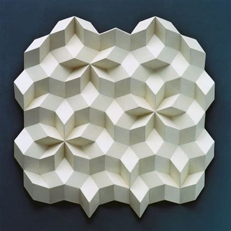 Geometric Origami Patterns - 86 best images about relief sculpture on clay