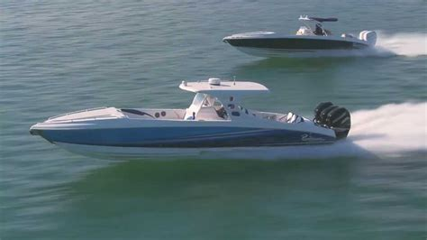 the open boat published renegade power boats 38 foot promo video youtube
