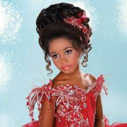 pageant hairstyles for long pageant hairstyles for little girls