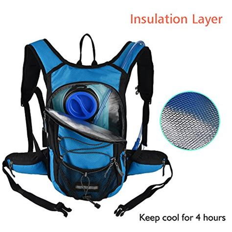hydration bladder insulation miracol hydration backpack with 2l water bladder thermal