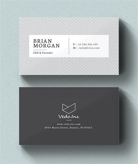 personal card designer template 25 new modern business card templates print ready design
