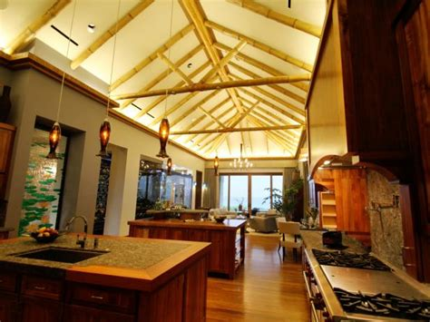 dramatic vaulted ceiling in kitchen traditional photo page hgtv