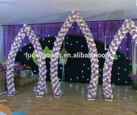 Wedding Arch Wholesale by New Arrival Factory Sale Metal Garden Wedding Arch
