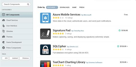 xamarin components tutorial oakleaf systems windows azure and cloud computing posts
