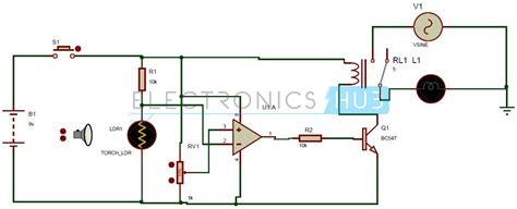 diploma light activated switch circuit