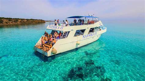 mini boat trips nafsika ii half day cruise cyprus mini cruises boat trip