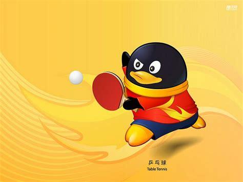 Sport Qq 卡通奥运运动图案 乒乓球比赛 19 猫猫壁纸酷 wallcoo