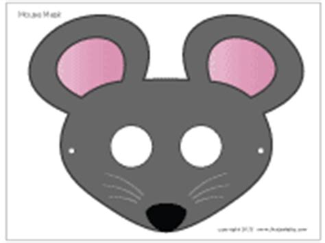 printable mouse mask template pin mouse mask template to print on
