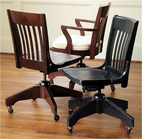 Small Wooden Desk Chair Antique Wooden Swivel Desk Chair Antique Furniture