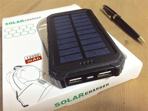 solar power bank test portable 12000mah solar power bank testing adrian