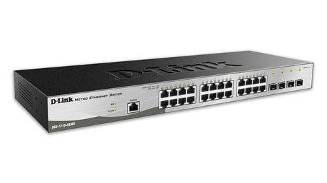 Dlink Dgs 1210 28 24port Gigabit Managed Switch Dgs1210 28 10 port gigabit websmart switch including 2 gigabit sfp ports d link