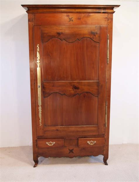 cherry wardrobe armoire french antique cherry bonnetiere armoire soapp culture