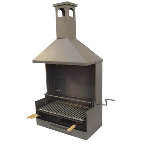 Grille Pour Cheminee Barbecue by Ez71529 Barbecue Pour Poser Avec Cheminee Achat Vente