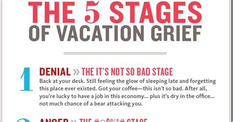 The Stages Of Grief Vacation Edition by 5 Stages Of Grief Go Cing Australia