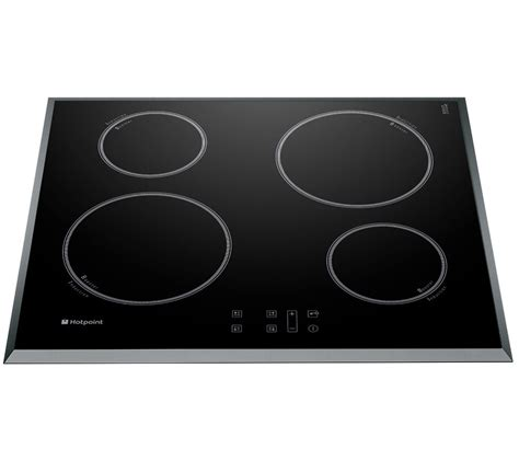 induction hob versus electric hob buy hotpoint cib644be electric induction hob black free delivery currys