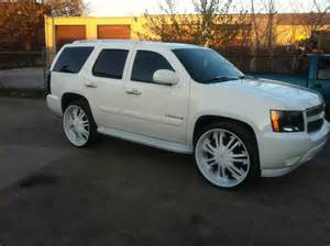 2007 chevrolet custom 28 inch rims tahoe lt for sale
