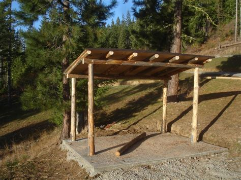 How To Build A Lean To Storage Shed by I Would Like To Build A Freestanding Lean To To The End Of
