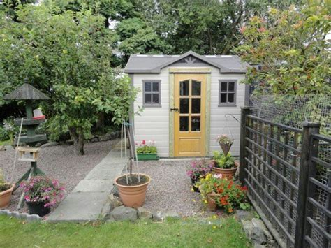 Beautiful Sheds For The Garden by Beautiful Garden Shed Colourful Things
