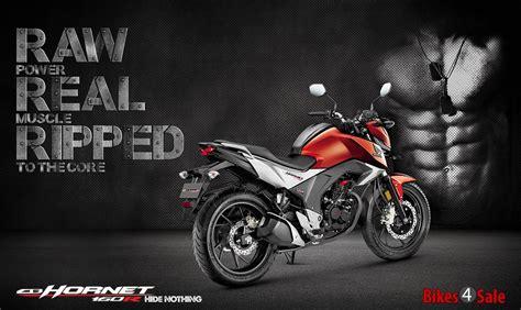 Honda CB Hornet 160R price, specs, mileage, colours